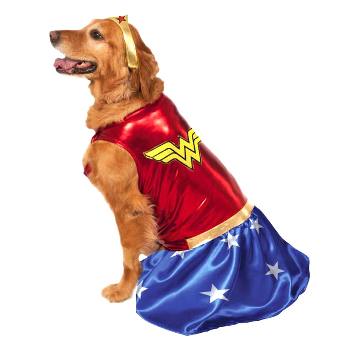 wonder woman pet halloween costume - your loved pet store