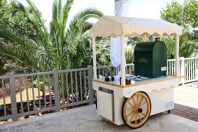 wedding planner malta - ice-cream cart