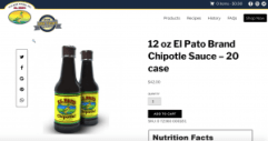 Walker Foods new product page