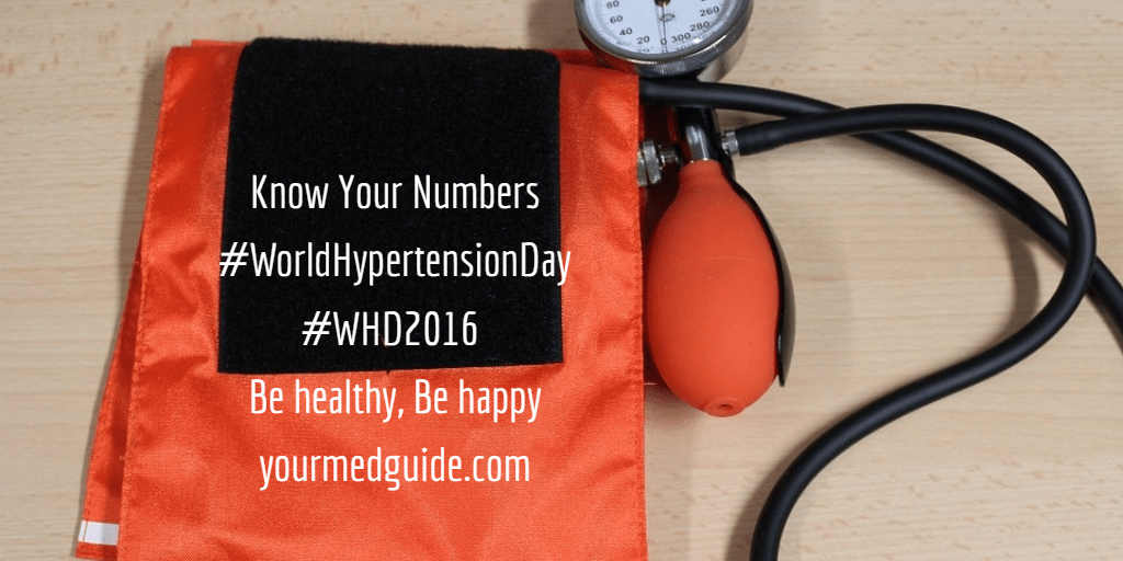 Know Your Numbers World Hypertension Day. Everything you need to know about high blood pressure.