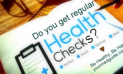 Do you get regular health checks Vidya Sury