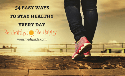 54 easy ways to stay healthy every day Vidya Sury