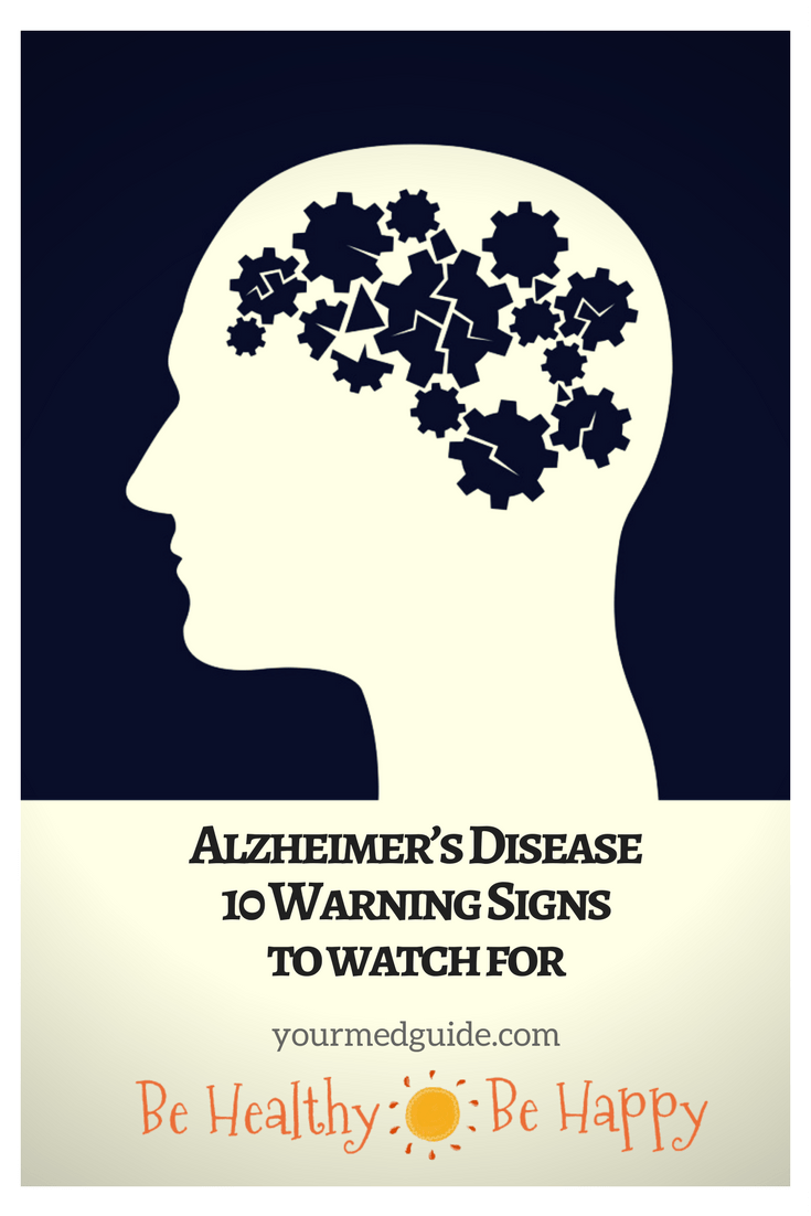 10 warning signs of Alzheimer's disease #mentalhealth #health #alzheimers #dementia #symptoms