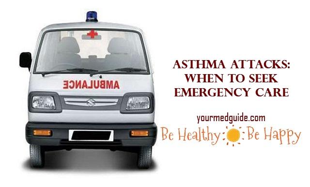 Asthma Attacks: When to Seek Emergency Care #health #asthma #medicalemergency