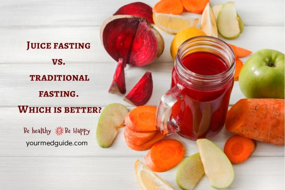Juice fasting vs traditional fasting. Which is better