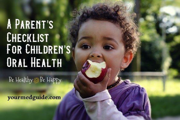 A Parent's Checklist For Childrens Oral Health #oralhealth #healthykids