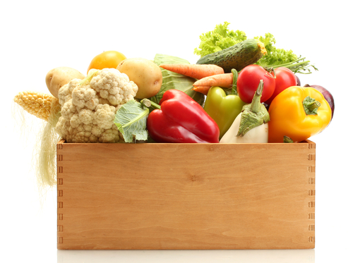 Why eat your fruits and vegetables. Vegetables are healthy
