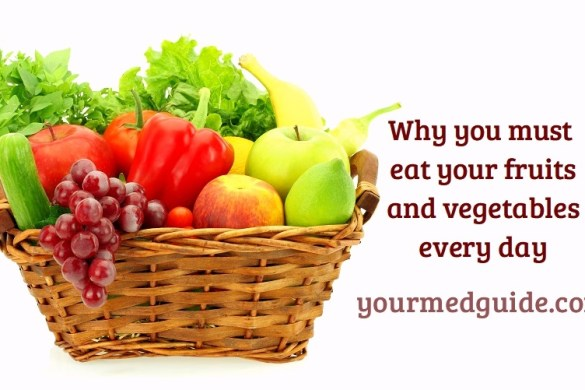Why you must eat your fruits and vegetables every day #health