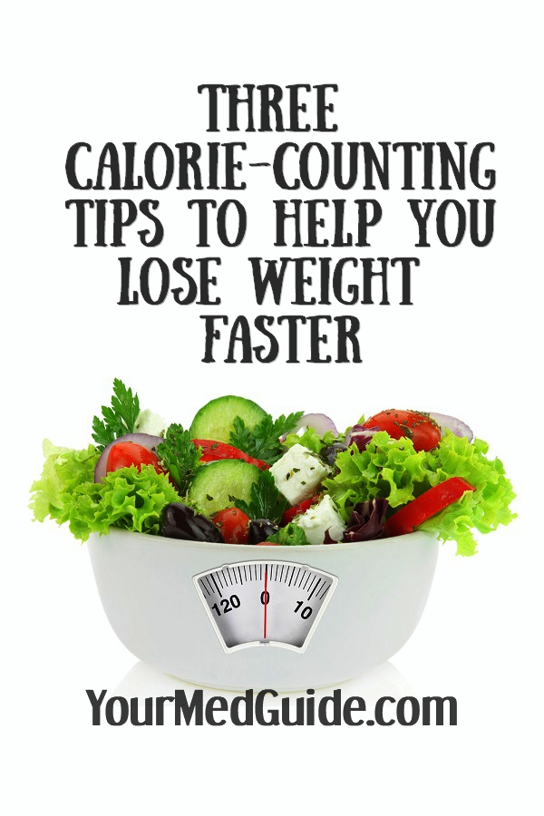Counting calories? 3 tips to help you lose weight faster