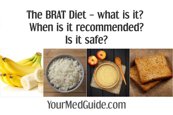 The BRAT diet. What is it? When is it recommended? Is it safe?