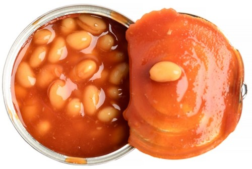 baked beans high triglyceride levels