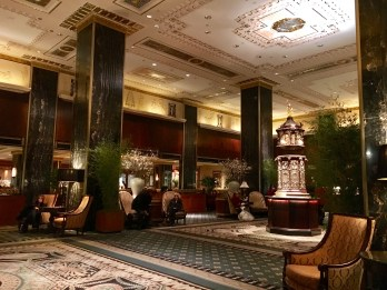 Lobby of Waldorf=Astoria