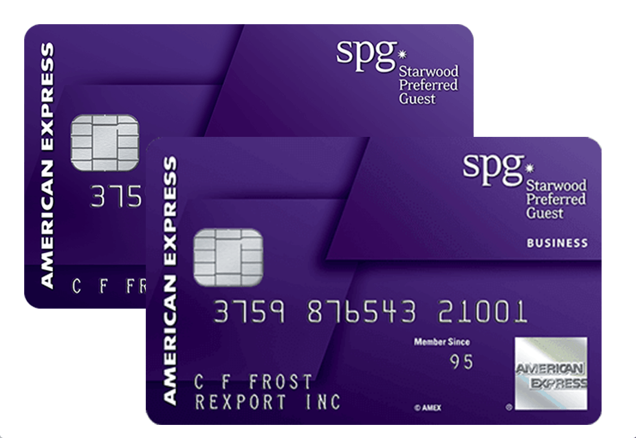 Credit Card Review: Starwood Preferred Guest Credit Cards from ...
