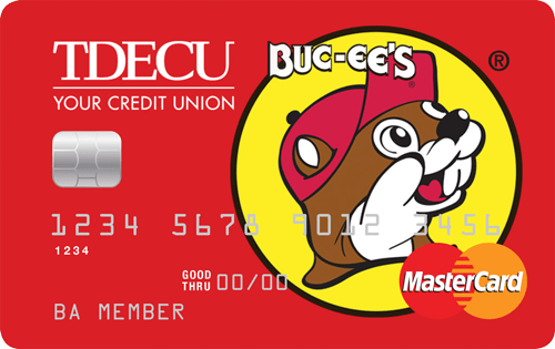 I Want The Buc-ee's TDECU Credit Union MasterCard. Here's Why.