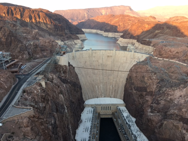 Joe Said I Had To Write About Our Visit to Hoover Dam