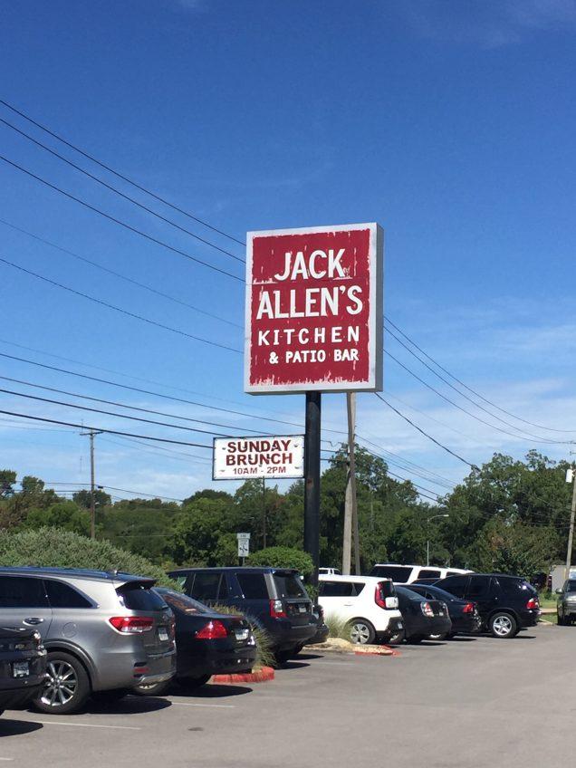 Jack Allen Sign
