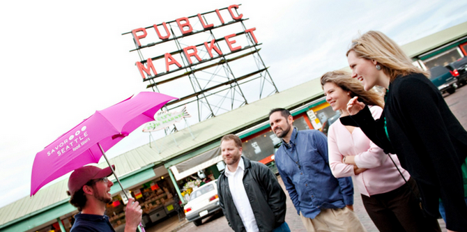 It Pays To Have A Guide To Take You Around Pike Place Market