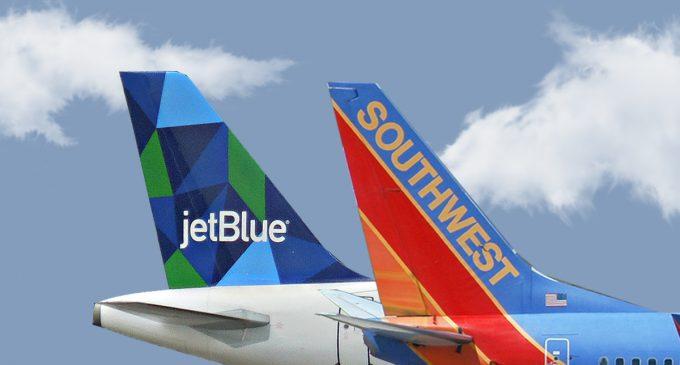 Southwest & JetBlue Airlines Flight Sales!