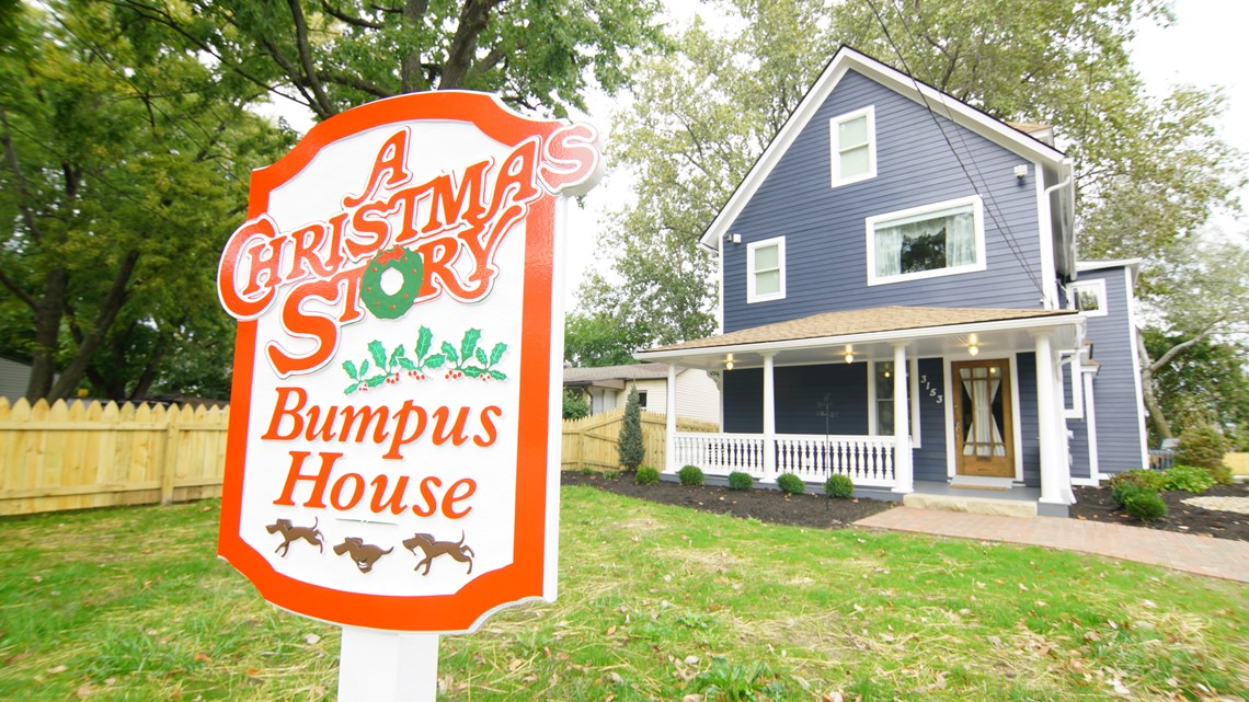 Win A Night At The Bumpus House, Next Door To A Christmas Story House! (785 Smelly Hound Dogs Not Included)