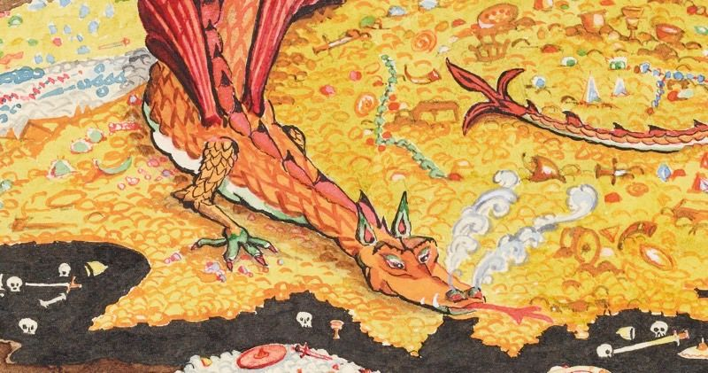 A HUGE J.R.R. Tolkien Exhibit Is Coming to the U.S., With Original Drawings, Manuscripts, Maps & More!