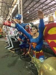 Superman and Capt. America