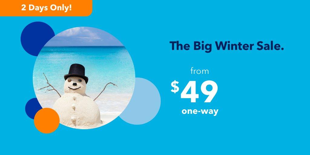 """JetBlue's """"Big Winter Sale"""" Flash Sale – It Ends Tonight!"""