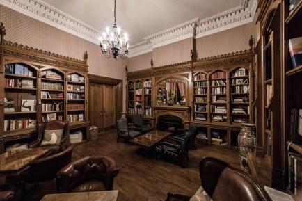 Inside The Oakley Court, Windor, UK.
