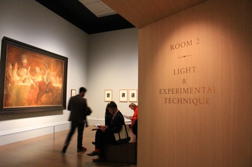 Rembrandt: The Late Works, 15/10/2014 - 18/01/2015, National Gallery in London; photo via http://en.gmw.cn