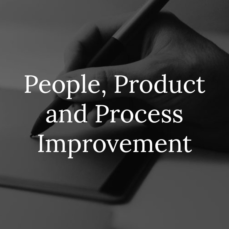 People Product and Process Improvement Link