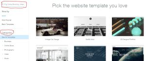 Wix Templates Review