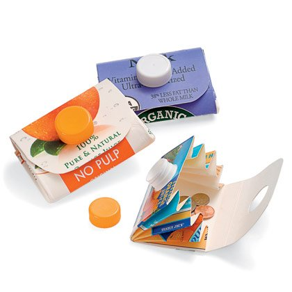 Kids Craft- How To Make A Wallet From A Juice Carton