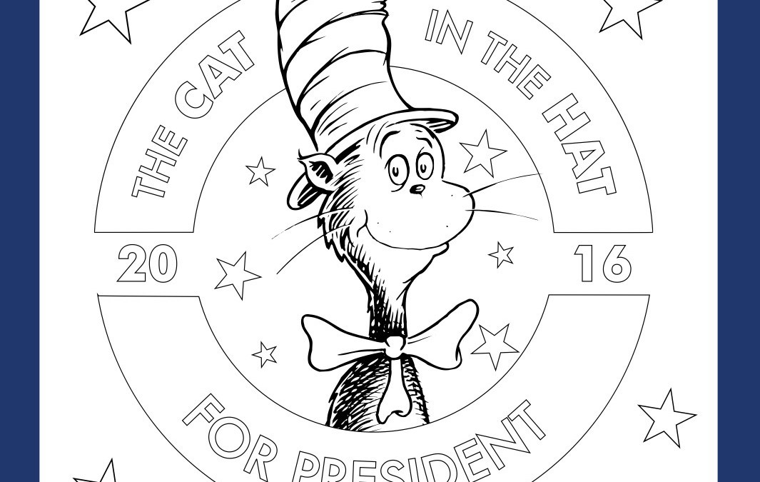 Free Cat In The Hat Election Activity Sheets