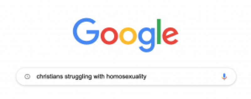 Google Search: Christians Struggling With Homosexuality