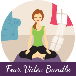 Get all four new Your Pace Yoga video series in one bundle