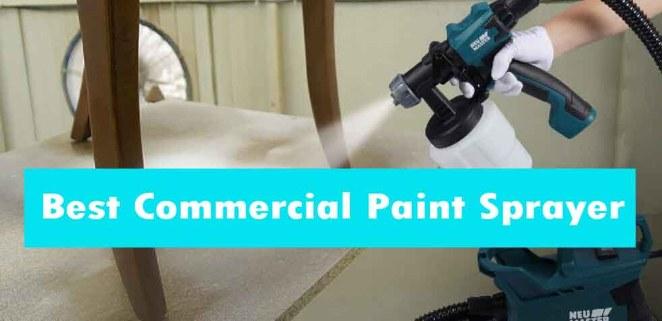 best commercial paint sprayer