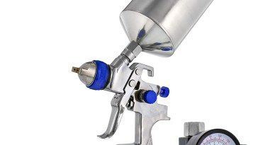 TCP global Brand Professional Spray gun with 1.5 mm Hvlp