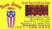 San Juan BBQ