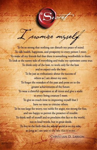 Law of Attraction poems
