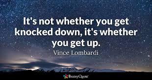 vince lombardi get up