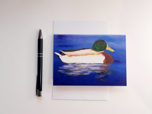 Mallard A6 Greetings Card