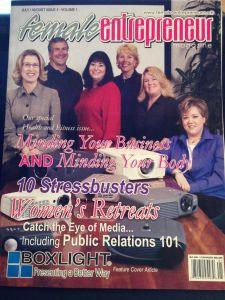Female-entreprenuer-magazine-features-Nikki-Rausch-Sales-Maven-Training