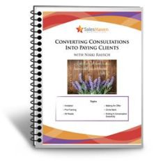 Converting Consultations Into Paying Clients Sales Maven