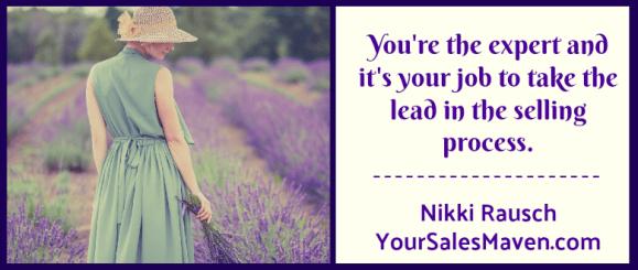 closing, sales maven, Nikki Rausch, blog, selling tips, sales training