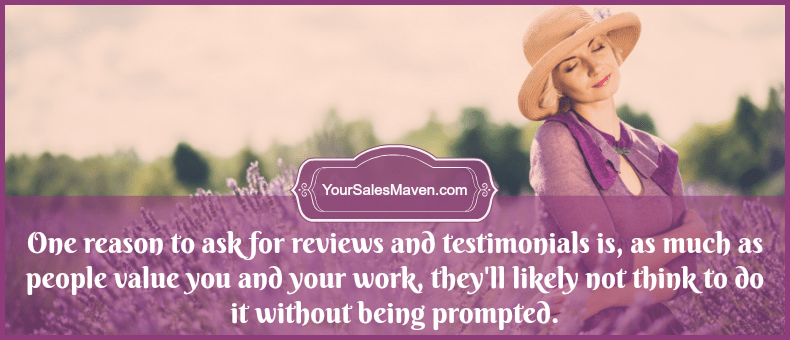 How To Ask For A Review Or Testimonial