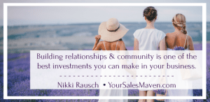 social media, selling, using social media to sell, rapport, relationships, Sales Maven