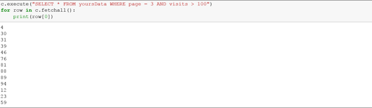 Introduction to SQLite using Python - YoursData