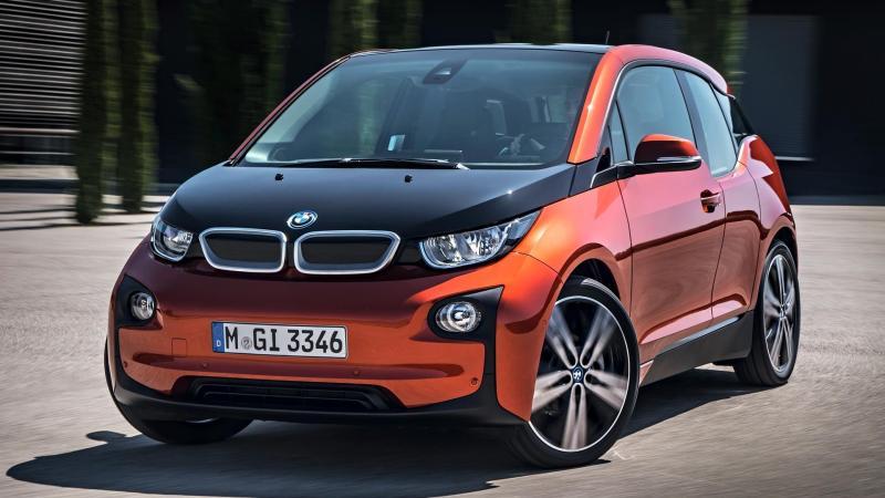 BMW electric SUV car