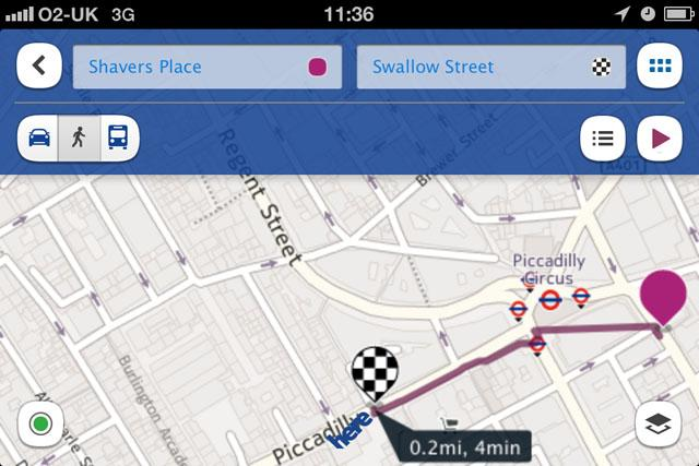 Nokia Here Maps