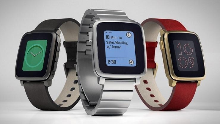 Pebble Time Apple Smartwatch
