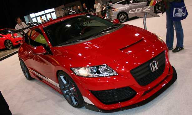 2016 Honda CR-Z Gets a Makeover to Boost Sales